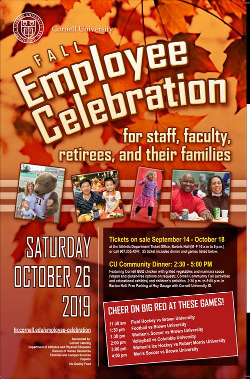 Fall celebration poster
