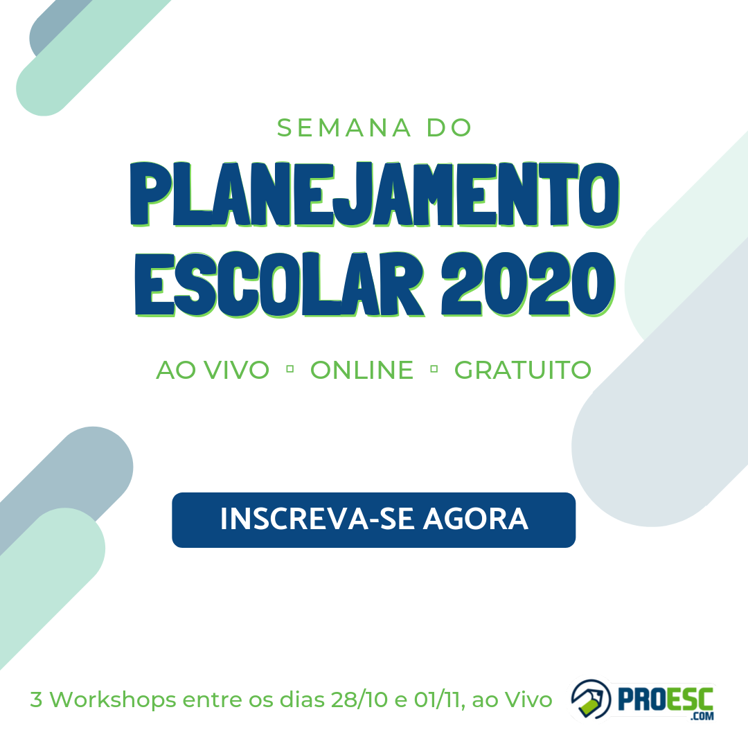 Semana do Planejamento Escolar 2020