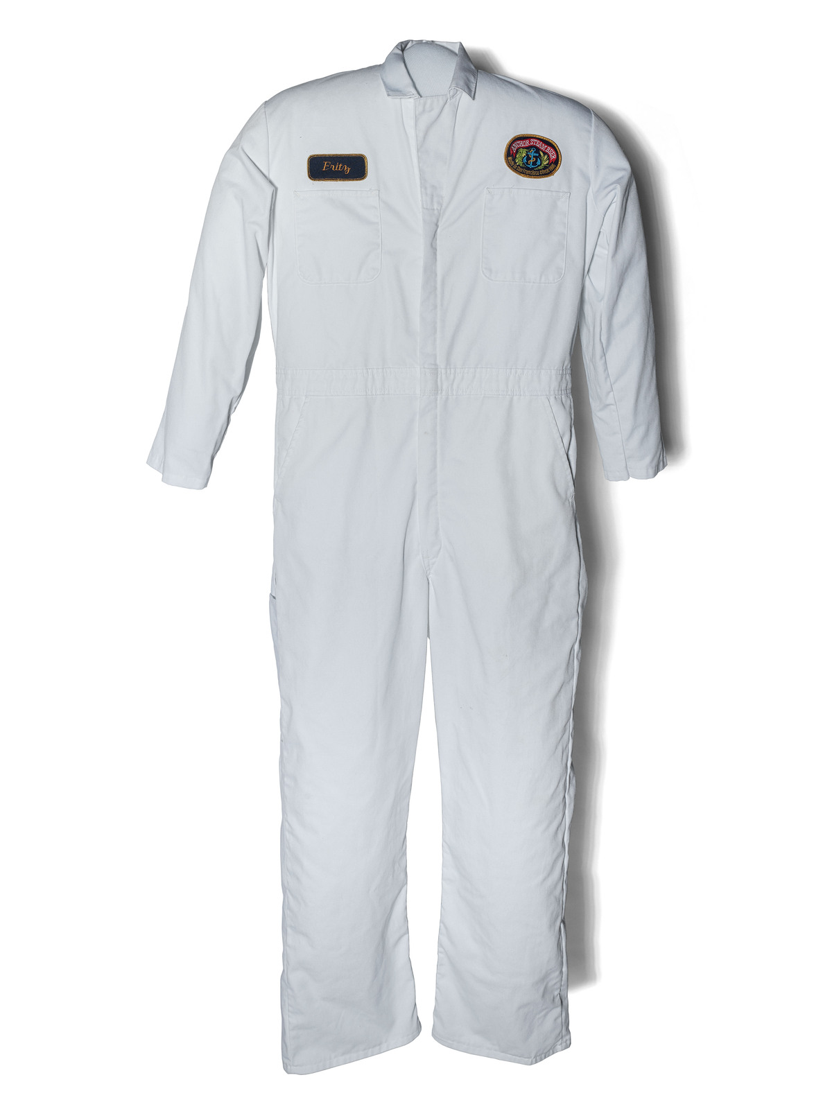 Fritz Maytag's coveralls from Anchor Brewing are part of the Smithsonian beer history collection. Courtesy of the National Museum of American History.