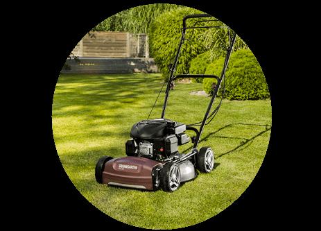 Köp gräsklippare online på granngården.se