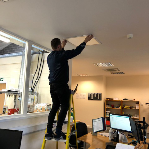 Kane invests in new lighting