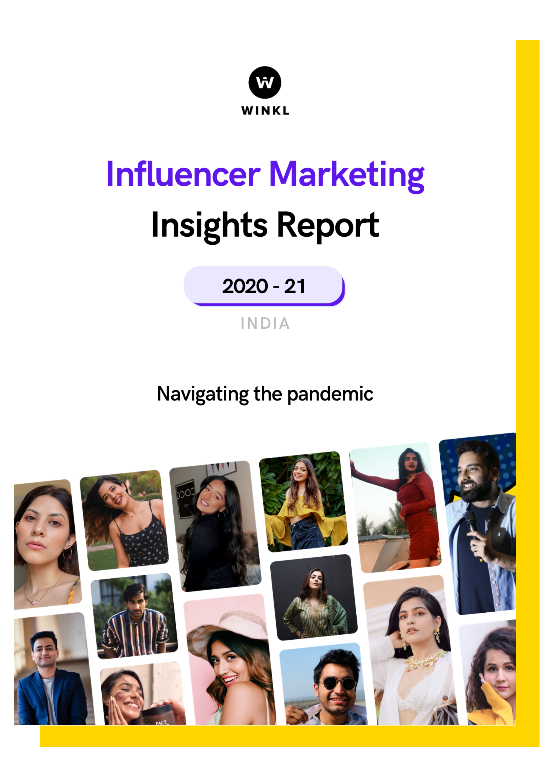 Get better ROI on your influencer marketing campaigns with winkl. Resolve full campaign needs and meet your marketing goals.