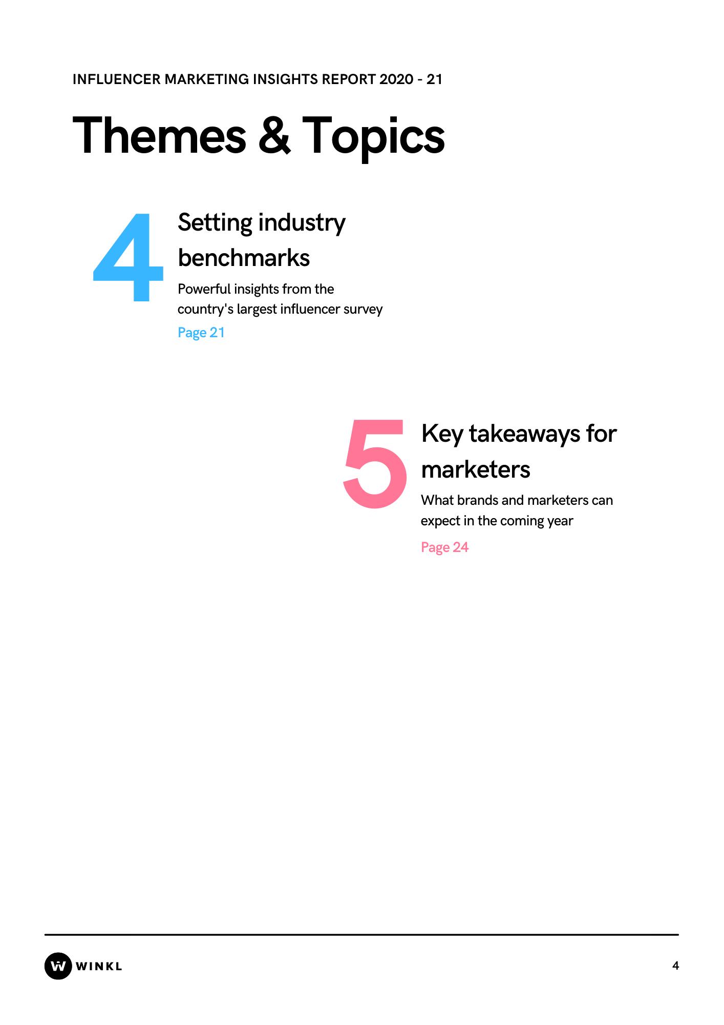 Influencer marketing insights report 2020-21
