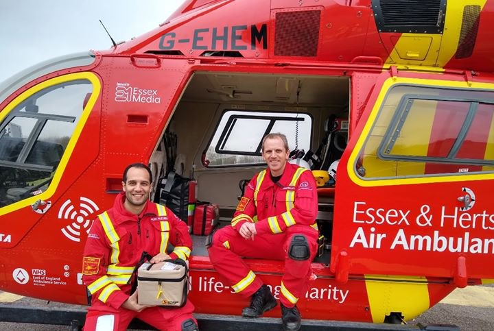 Fundraising for Essex and Hertfordshire Air Ambulance
