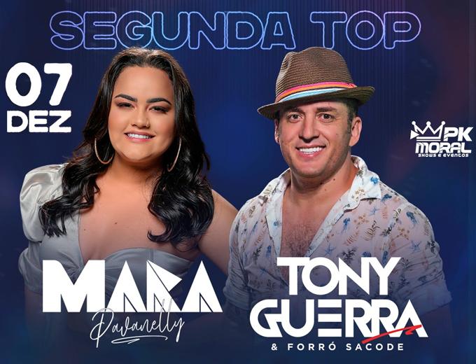 Tony Guerra e Mara Pavanelly