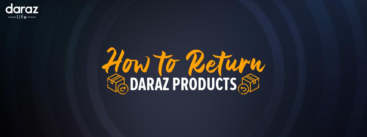 Darr ko darrao Daraz Return Banner.jpg