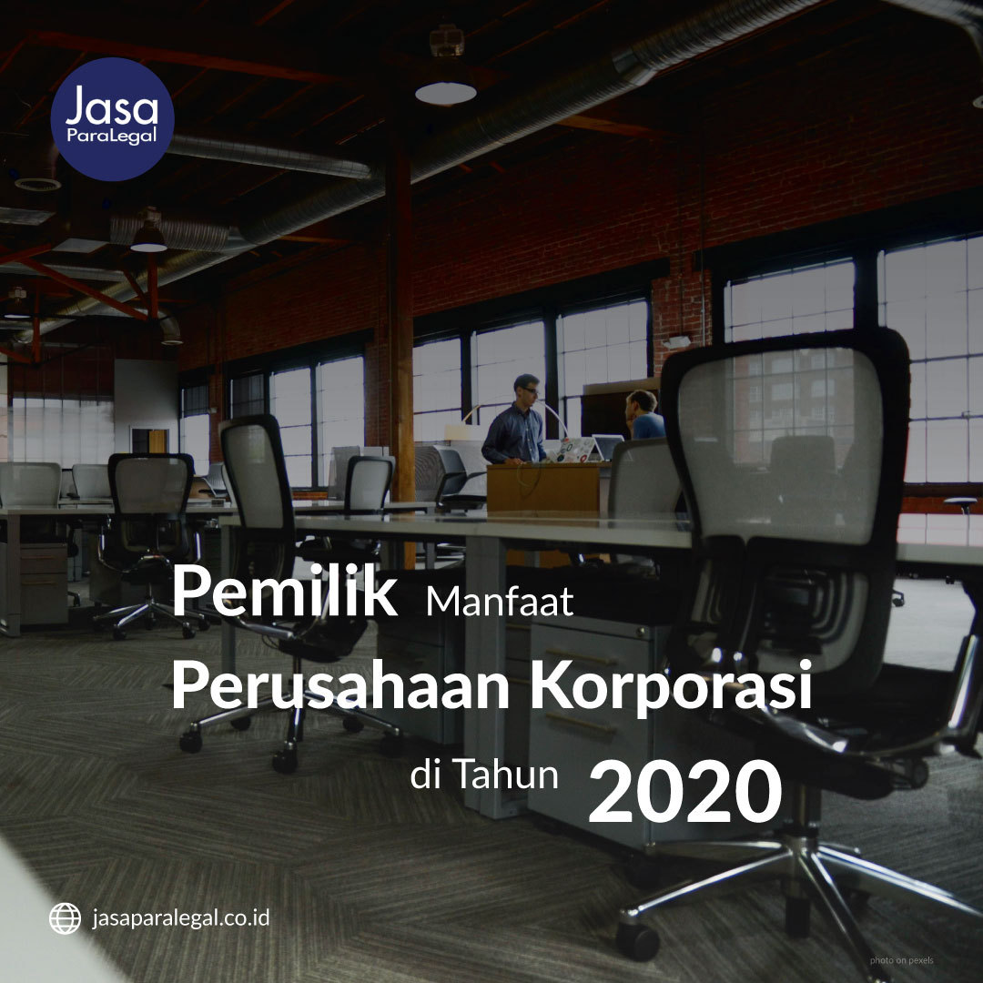Pemilik Manfaat Perusahaan Korporasi di Tahun 2020