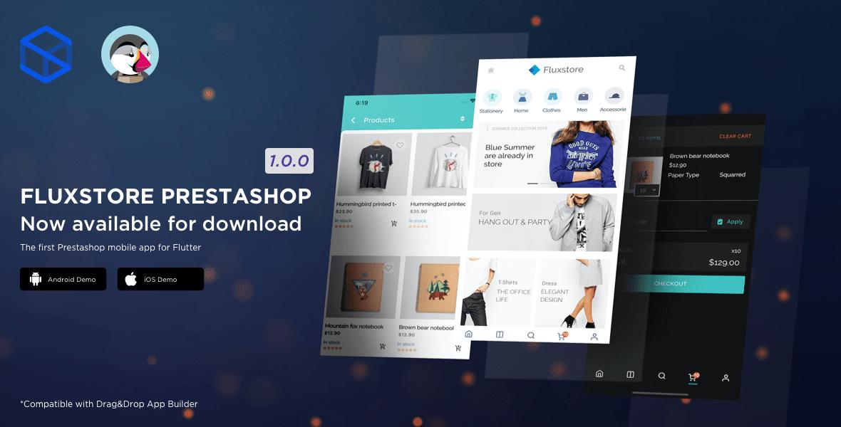 Fluxstore Prestashop - Flutter E-commerce Full App - 1