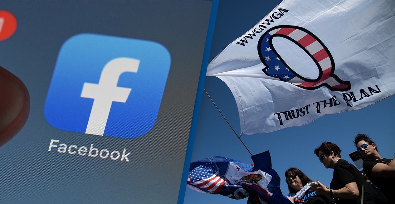Facebook Terminates 1,500 Pages Groups And Profiles Related To QAnon