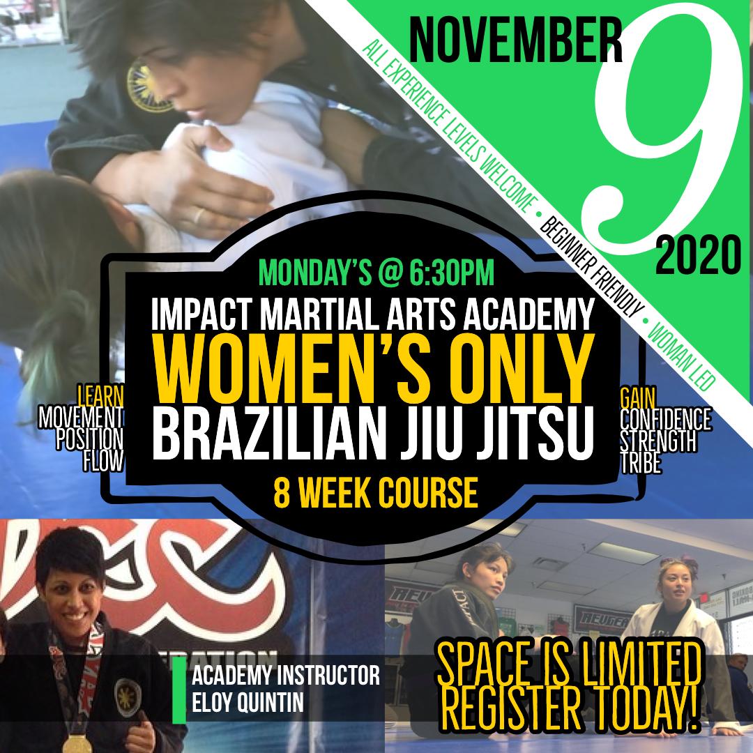 Women's Only Brazilian Jiu Jitsu Program