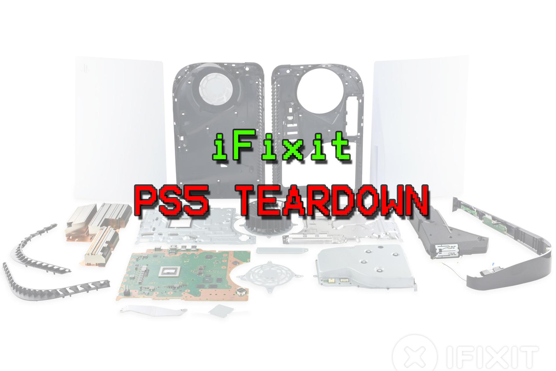 PS5 Teardown