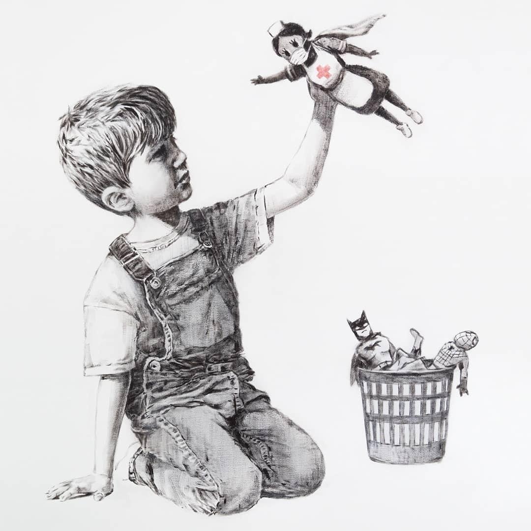 (Game Changer, 6 mai 2020, Banksy)