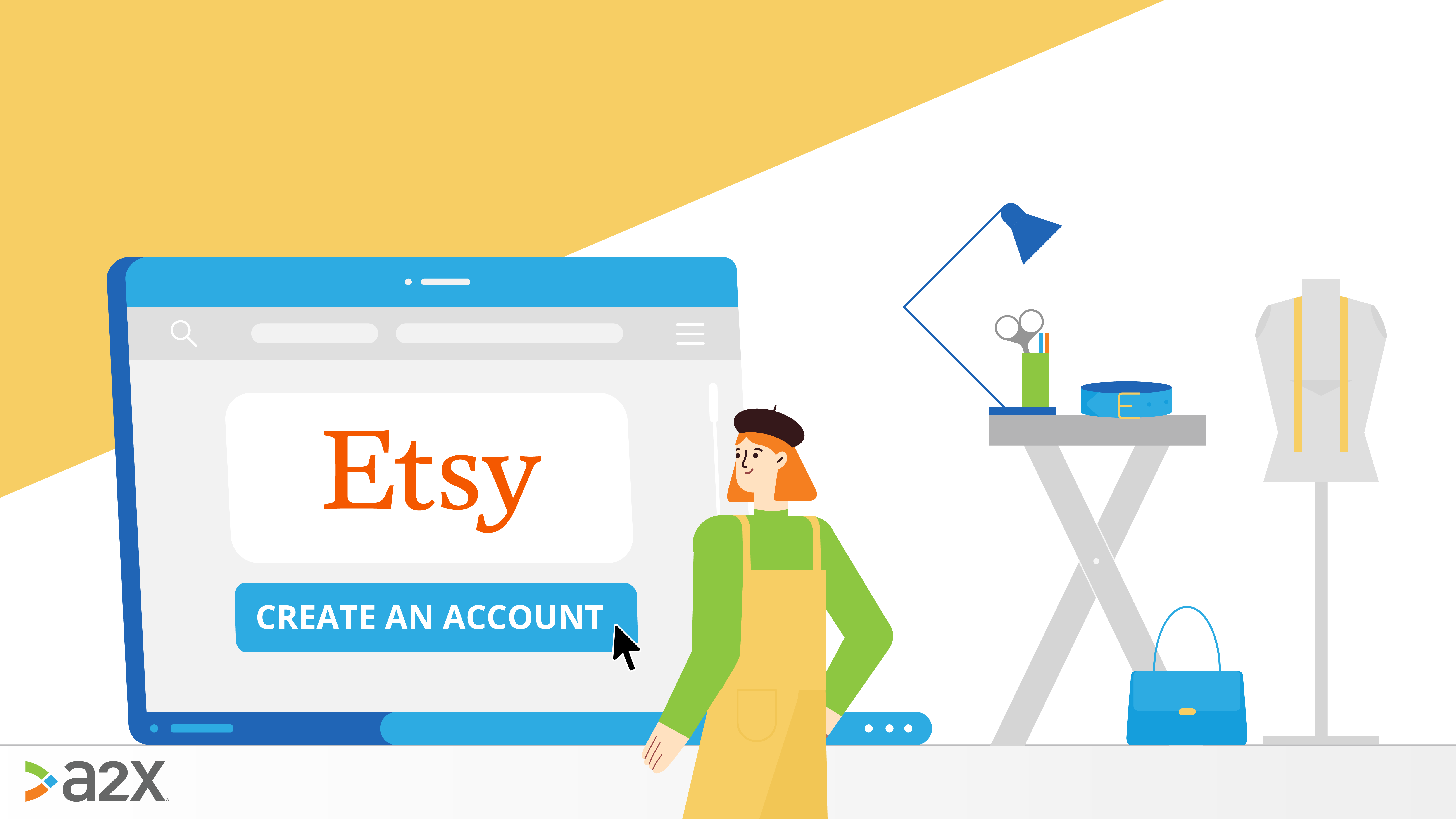 how to set up an etsy account