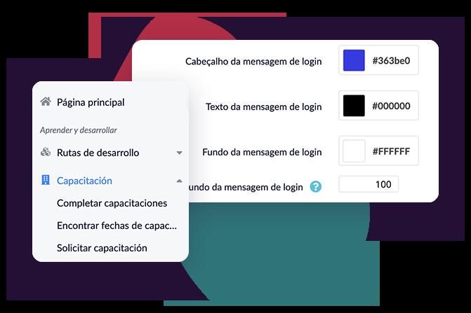 Nowości wHCM Deck. Ilustracja nowych wersji językowych, hiszpańskiej iportugalskiej.