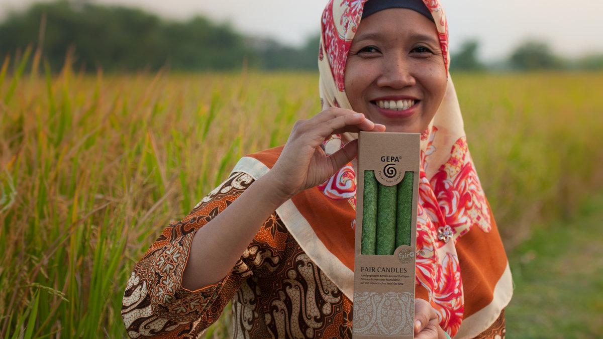 Sumiati (Foto: GEPA - The Fair Trade Company/C. Nusch)