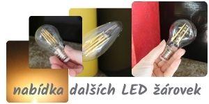 žárovka E27 LED
