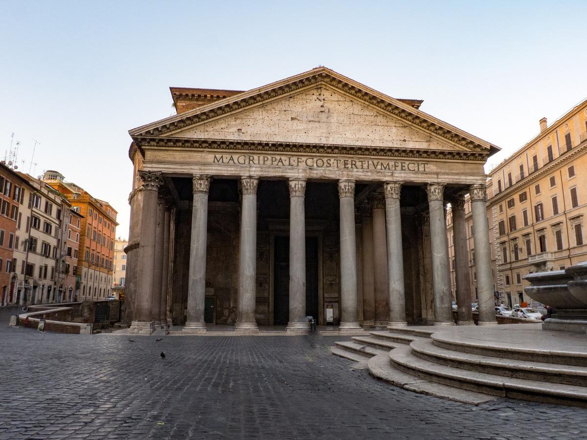 o que fazer em roma em 1 dia - panteão