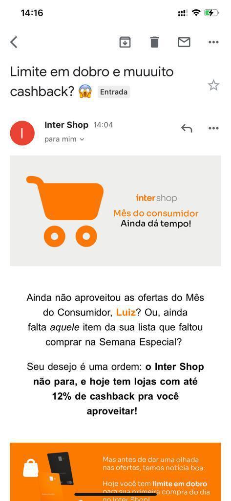 e-mail do Banco Inter para o Luiz Felipe Kessler.jpeg