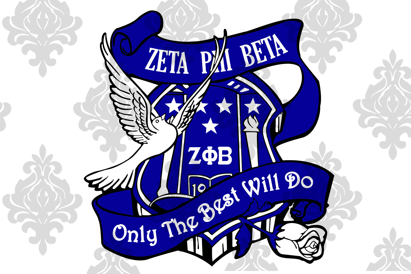 Zeta phi beta only the best will do, zeta svg, 1920 zeta phi beta, z phi b, zeta shirt, zeta sorority, sexy black girl, black girl svg, black woman svg,sorority svg, files for silhouette, files for cricut, svg, dxf, eps, png, instant download