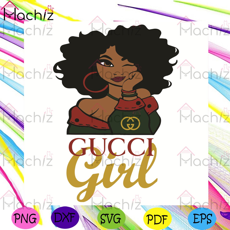 Gucci girl svg, trending svg, gucci svg, gucci black girl svg, black girl svg, girl love gucci svg, gucci logo svg, gucci dress svg, gucci silhouette svg, gucci pattern svg, gucci lovers svg, girl gifts svg, gucci gifts svg, trendy girl svg