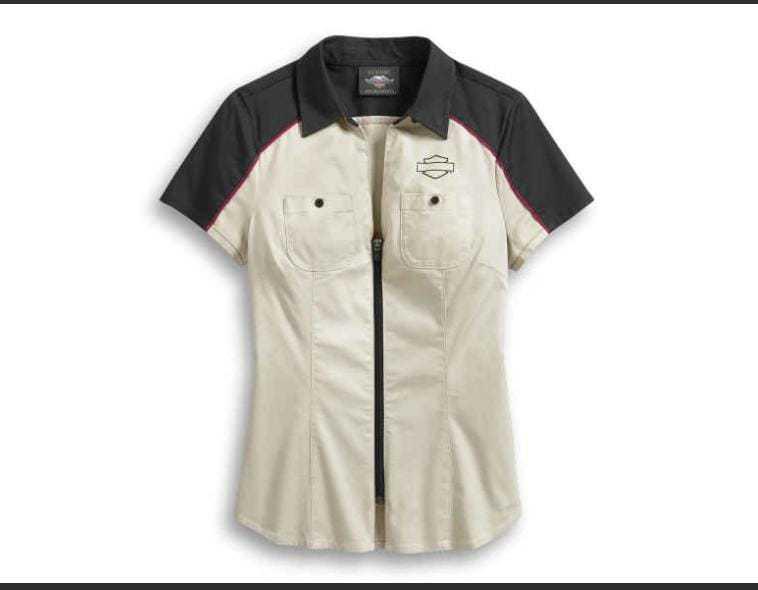 Camisa de algodão.