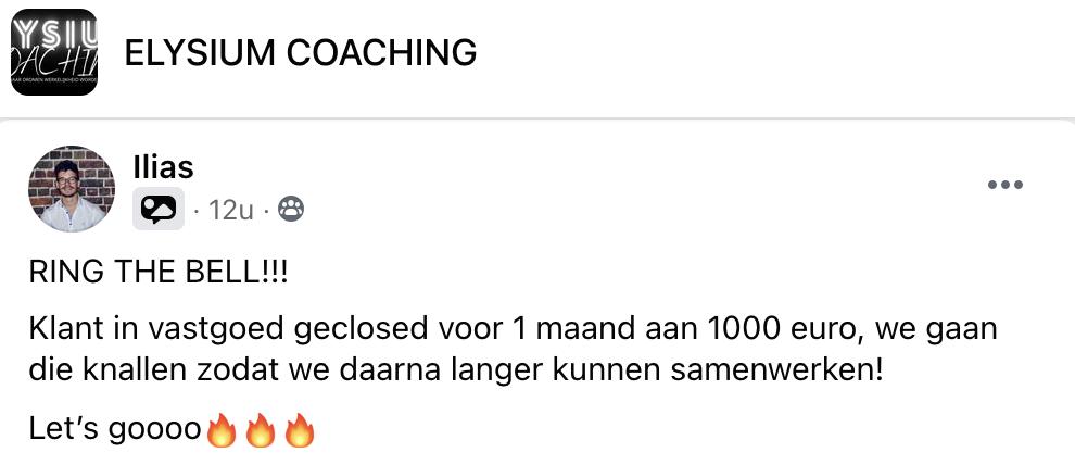Elysium Coaching: Getuigenissen