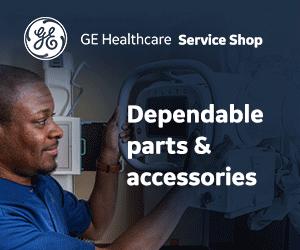 GE Healthcare Service Shop Ad Example
