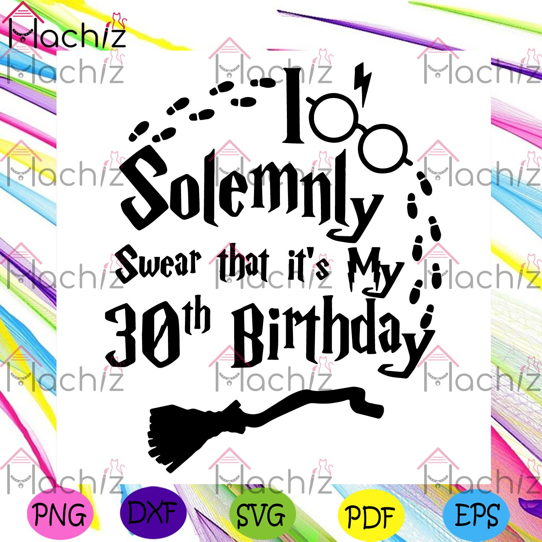 30th birthday harry potter svg birthday svg, 30th birthday svg