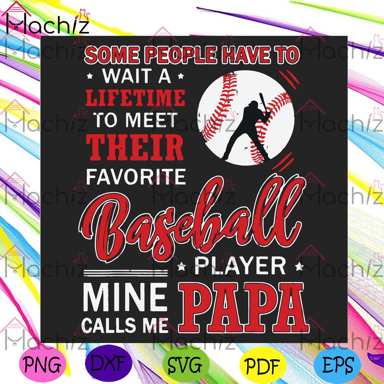 Baseball players papa svg fathers day svg, sport svg