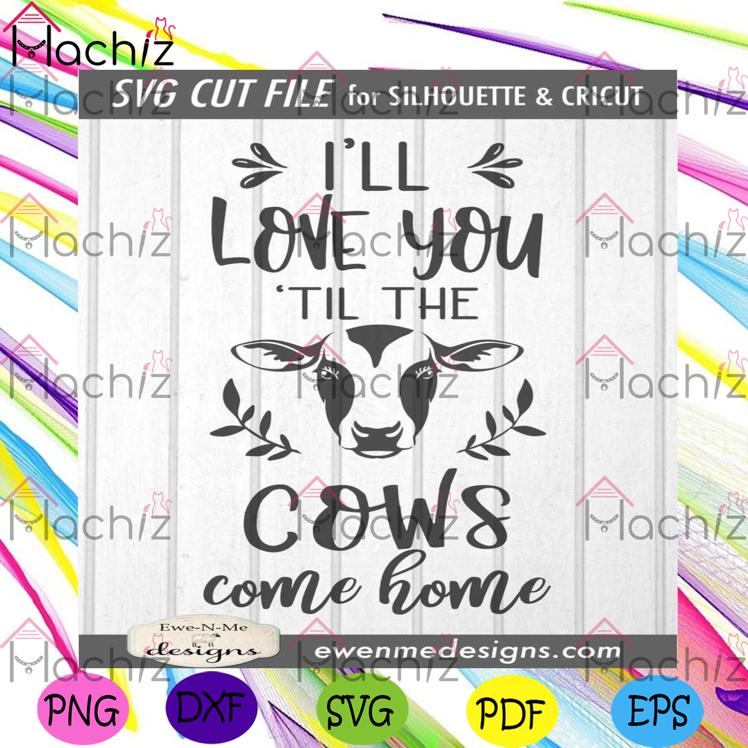 Ill love you til the cows come home svg trending svg, love quotes