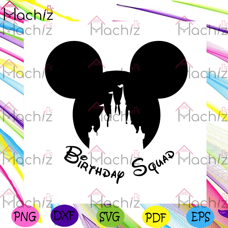 Birthday squad mickey svg birthday svg, birthday boy svg