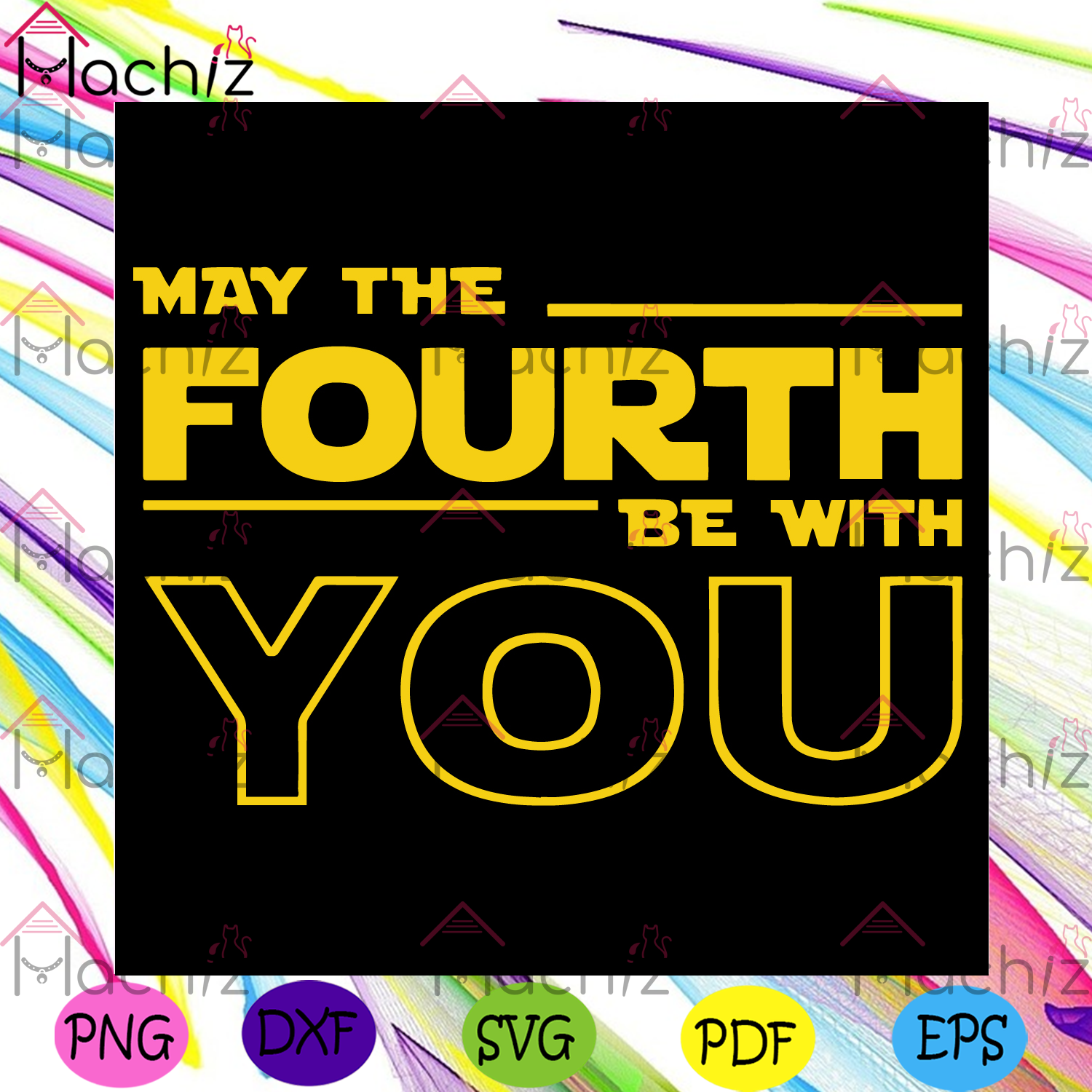 May the fourth be with you svg star wars svg, may 4th svg