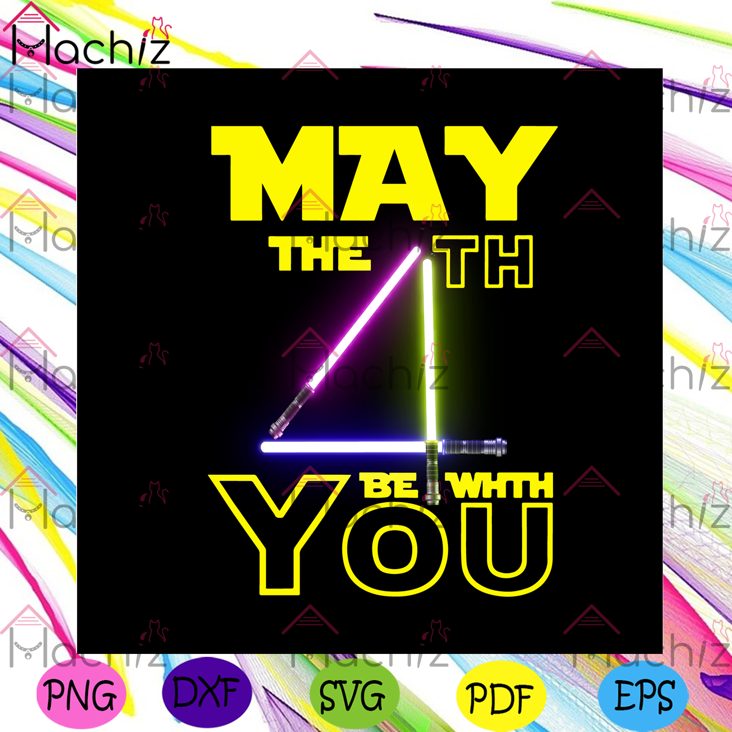May the 4th be with you svg trending svg, star wars svg, may 4th svg