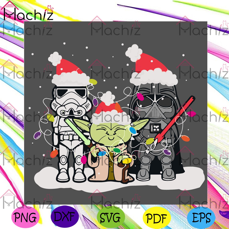 Christmas starwars svg christmas svg, merry christmas, xmas svg