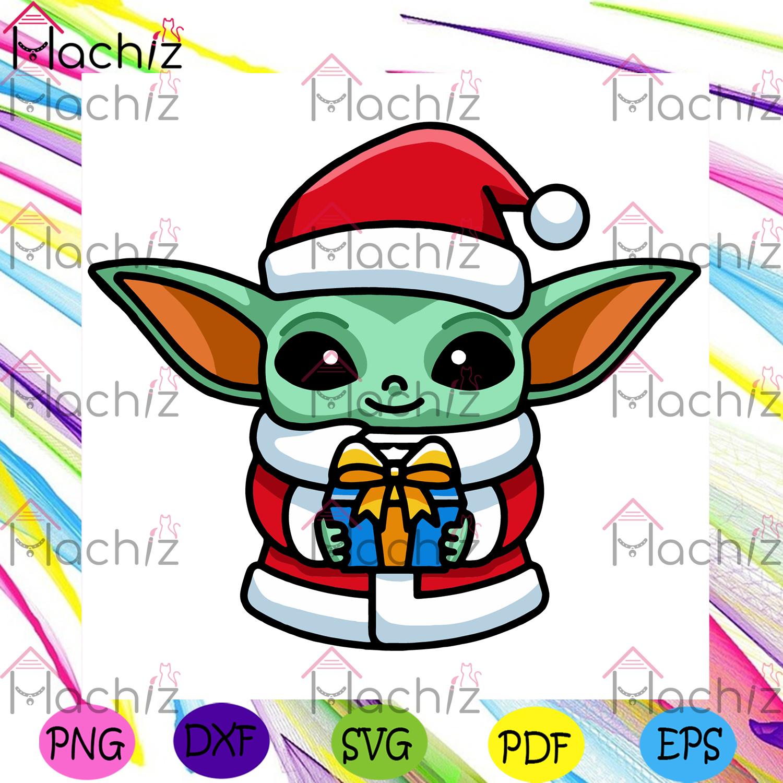Christmas baby yoda svg christmas svg, xmas svg, christmas 2020