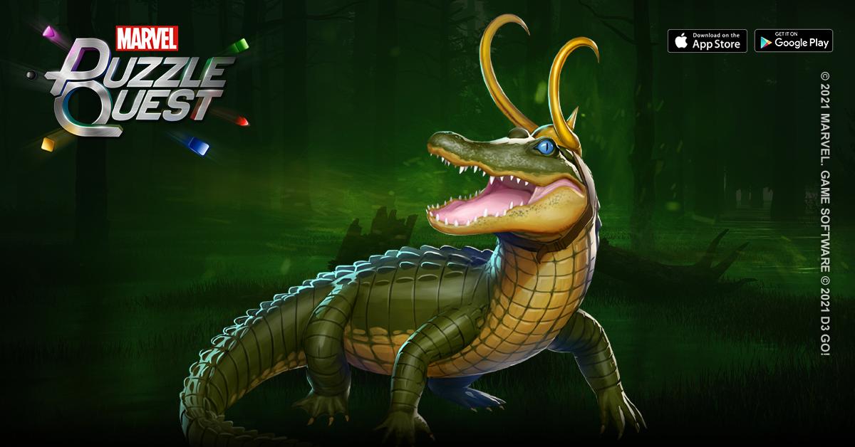 Loki (Alligator or Mischief) August 2021